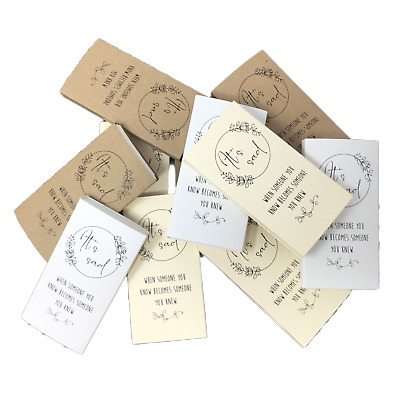 Funeral Tissues 10pk. Funeral Favors with Tissues Included. Funeral Tears Tissue