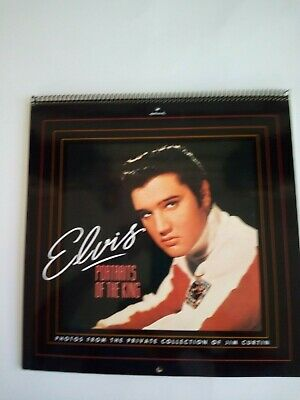 Elvis Presley  --  1991 Calendar  --  Portraits Of The King -- New  --  Hallmark