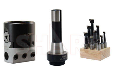 """SHARS Shank Adapter For 1-1//2/""""-18 Boring Head 2MT Morse Taper Tang Type MT2 NEW"""