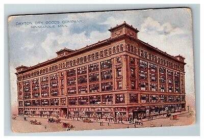 Dayton Dry Goods Company, Minneapolis MN c1910 Postcard G15
