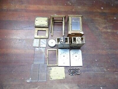 French Carriage Clock Parts, Movements, Cases, Misc. Part