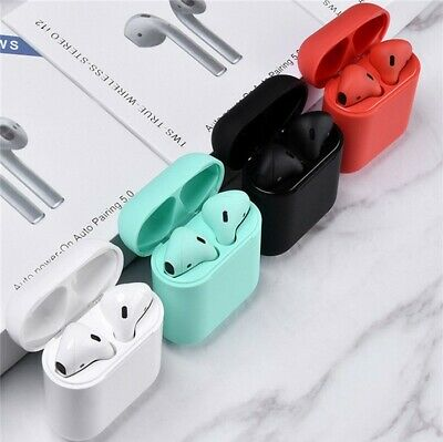 i12 TWS BLUETOOTH 5.0 Earbuds Wireless Headphones Airpods For apple iphone