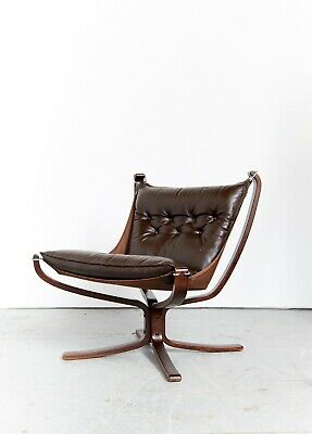 "Sigurd Ressell ""Falcon Chair"" Sessel for Vatne Møbler"