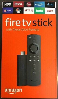 NEW Amazon Fire TV Stick 2019 All-New Alexa Voice Remote with TV Control Buttons