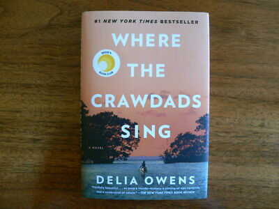 Where the Crawdads Sing by Delia Owens (2018 Hardcover)
