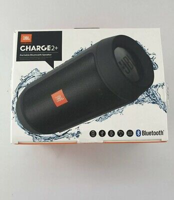 JBL Charge 2 Portable Wireless Bluetooth Stereo Speaker (Black)