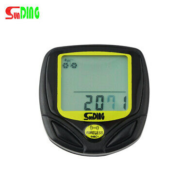 Hot Wireless Cycling Computer Shipping Drop Bike Display LCD With Speedometer