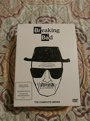 Breaking Bad:The Complete Series (DVD,2016,21-Disc Set) Watched 1x EXCELLENT