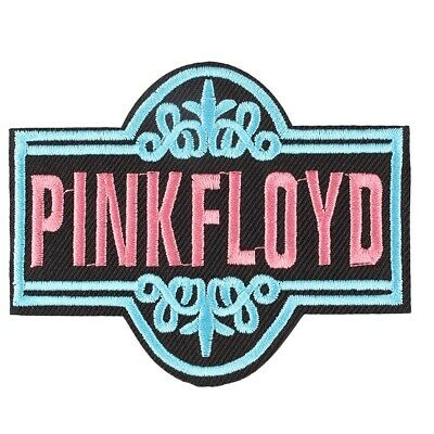 """Fashion """"Pink Floyd"""" Embroidered Iron ON Patch Fabric Applique Punk Badge"""