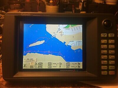 CETREK Chartnav 345 LCD Colour plotter with 1 C-Map chart