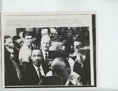 1960 Martin Luther King Jr Vintage Photo Decatur, Georgia Civil Rights
