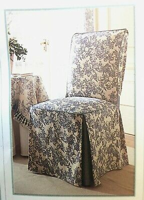 Admirable Classic Slip Covers Toile Print One Piece Slipcover 51 00 Alphanode Cool Chair Designs And Ideas Alphanodeonline