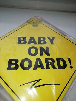 Baby On Board Car Safety Sign