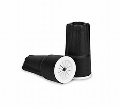 King Innovation 61146 Dryconn Negro/Blanco Impermeable Conector, Paquete de 150