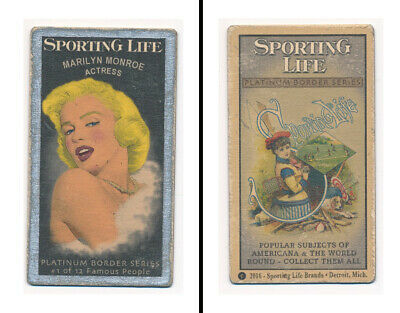 "Sporting Life ""T-size PLATINUM SERIES"" - Marilyn Monroe, Hollywood Legend!"