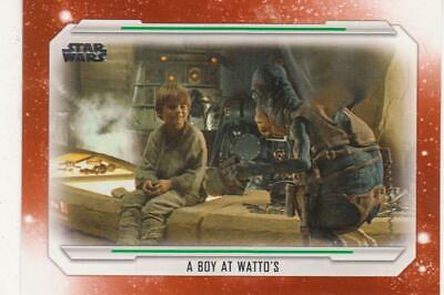 2019 Topps Star Wars Skywalker Saga COMPLETE Base Set ORANGE 100 Cards