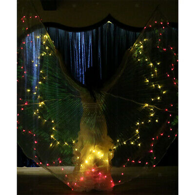Belly Dance Wing Costume LED Isis Wings Belly Dancing Light up Wing for Girl