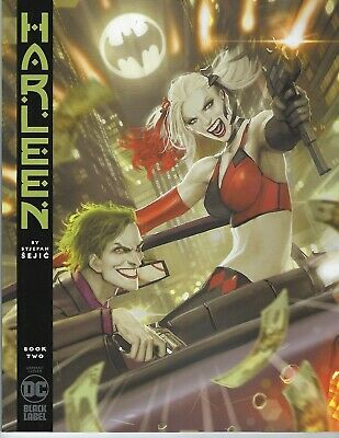 Harleen # 2 of 3 Variant Cover NM Black Label DC Pre Sale Ships Oct 30th
