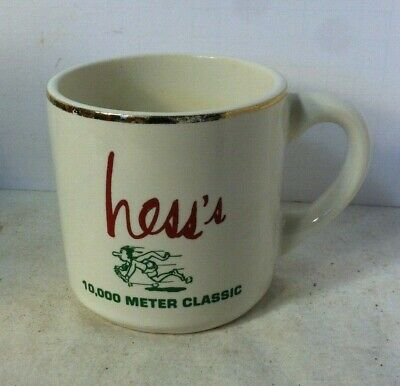 Rare Hess Brothers Hess's Department Store 10000 Meter Classic Race Mug Cup