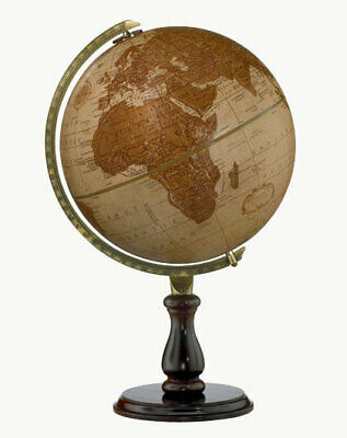30cm Replogle Leather Expedition world Globe