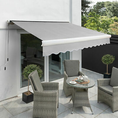 1.6m Rectangle Green Outdoor Garden Patio Sun Side Shade Shelter for Awning