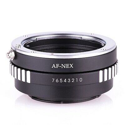 Sony Alpha Minolta AF Lens to Sony E Mount Adapter for NEX NEX-5 NEX-7 MA-NEX