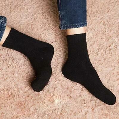 Wool Cashmere Comfortable Thick Socks Mens Winter Outdoor Warm Socks Soft S P1Q9