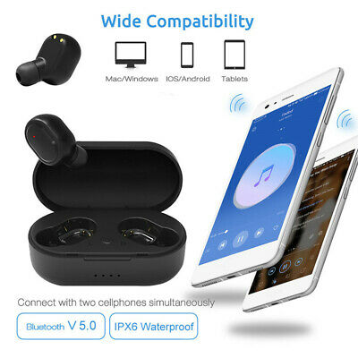 A6s TWS M1 Wireless Bluetooth EarPhone PK Redmi Airdots 5.0 Wireless Ohrhörer vn