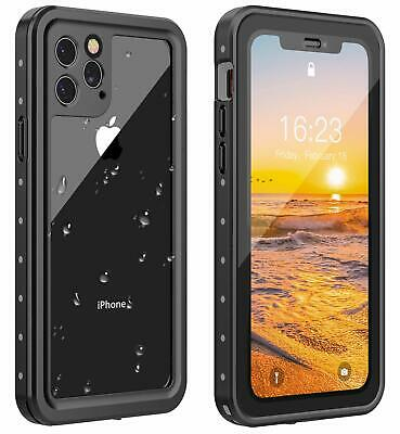 For iPhone 11 Pro Max Case Waterproof Shockproof Screen Protector Dustproof