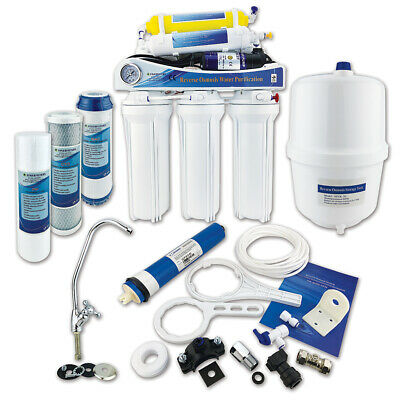 Finerfilters Domestic 6 Stage Reverse Osmosis Unit with Remineral Filter & Pump