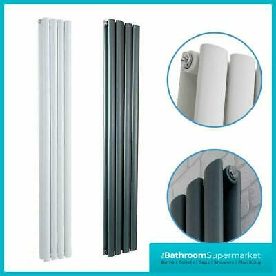 Designer Radiator Tall Vertical Oval Column Panel Radiators Central Heating