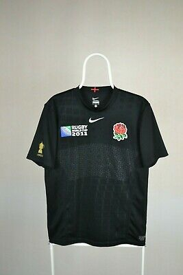 Nike England Rugby World Cup 2011 Away Jersey Shirt Size S SMALL