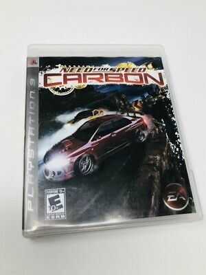 Need for Speed: Carbon (Sony Playstation 3 PS3) Complete CIB - Tested