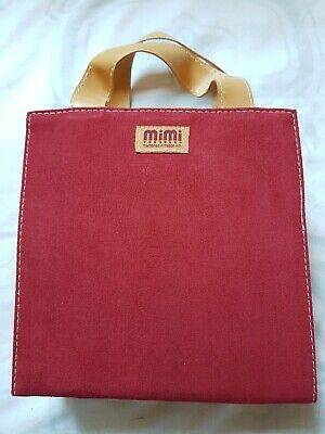 Mimi Mini Craft Tote Accessory Bag - Suede