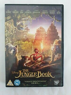 Jungle Book (Dvd) Walt Disney Bill Murray, Idris Elba & Scarlett Johansson