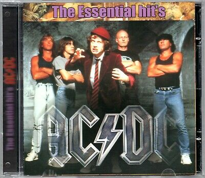 AC/DC CD The Essential Hit's Brand New Sealed Ac Dc AcDc
