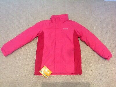 Pink regatta girls coat brand new with tags age 9 - 10 years rrp 39.99