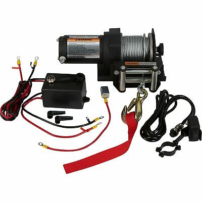 2500 LB ELECTRIC Winch with Wireless Remote Control ATV/UTV ... Harbor Freight Winch Wiring Diagram Hp Dc on