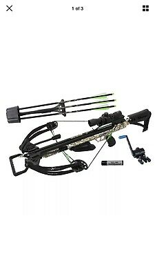 Carbon Express X-Force Piledriver 390 Badlands Camo w/ Crank Crossbow Package