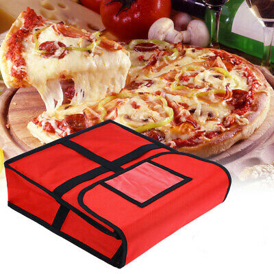 Pizza Hot Food Delivery Bag Takeaway Restaurant Insulated Thermal Storage Holder