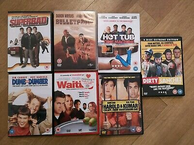 Job lot of Comedy Used DVDs bulk buy - Excellent condition - Hours of fun!