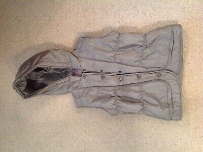 BTS Spanish designer Silver Gilet with hood age 12 years