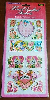 Handcrafted Love Stickers