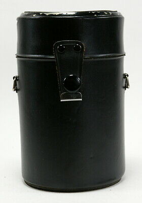 """Sigma Leather Hard Lens Case 5 1/2"""" x 3 1/2"""" Outside Measurements for 135mm"""