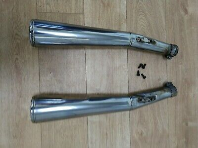 Genuine Bmw R100 Stainless Exhaust Pipes