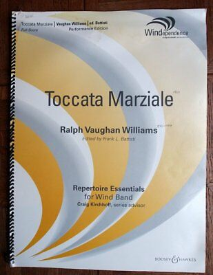 TOCCATA MARZIALE Vaughan Williams SCORE ONLY