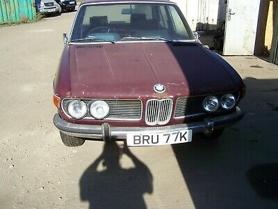 Bmw E3 3.0 S 1971  Barn Find Spares Repair Complete