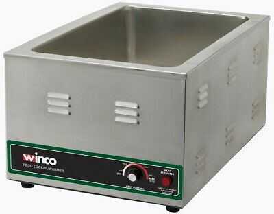 Winco FW-S600 Electric Food Cooker/Warmer, 1500W, Pickup ONLY