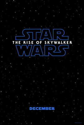 STAR WARS THE RISE OF SKYWALKER  27x40 Official Theatrical DS One-Sheet Poster