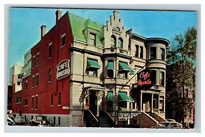 Cafe Martin, French Restaurant, Sherbrooke Montreal Canada c1950 Postcard G20